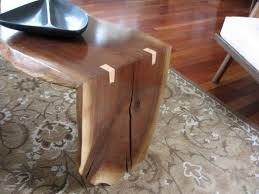 coffee table mid century wood slab timber tables ideas hairpin