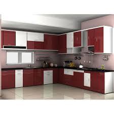 Acrylic Modular Kitchen Source Modern Kitchens Rasoiyaan Om Sai