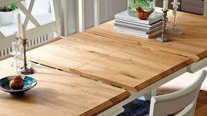 massivholz esstisch ausziehbar 160 260x95 kiefer chagner goldbraun lackiert landhausstil