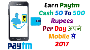paytm earn money hindi Earn Paytm Cash 50 To 500 Rupees Per Day