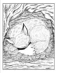 Colouring Pages Adult Sheets New In Minimalist Animal Coloring