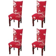 Nordmiex Spendex Dining Chair Slipcovers - 4 Pack Removable Dining Chair  Covers Wrinkle And Stain Resistant Chair Protector Fitted Stretch Cushion  ... Amazoncom 6 Pcs Santa Claus Chair Cover Christmas Dinner Argstar Wine Red Spandex Slipcover Fniture Protector Your Covers Stretch 8 Ft Rectangular Table 96 Length X 30 Width Height Fitted Tablecloth For Standard Banquet And House 20 Hat Set Everdragon Back Slipcovers Decoration Pcs Ding Room Holiday Decorations Obstal 10 Pcs Living Universal Wedding Party Yellow Xxxl Size Bean Bag Only Without Deisy Dee Low Short Bar Stool C114 Red With Green Trim Momentum Lovewe 6pcs Nordmiex Spendex 4 Pack Removable Wrinkle Stain Resistant Cushion Of Clause Kitchen Cap Sets Xmas Dning