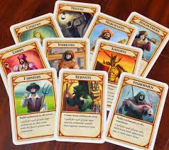 KingdomBuilder Board Game Cards