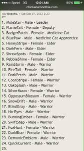 cat names die besten 25 warrior cat names ideen auf krieger