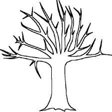 Bare Tree Template 1712447