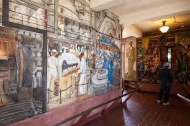 Coit Tower Murals Controversy by Sebastopol And Side Trips Through Sonoma And Marin County Ca