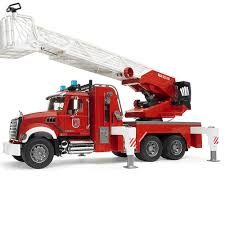 Bruder Toys Mack Granite Plastic Fire Engine With Slewing Ladder And ... Bruder Man Fire Engine With Water Pump Light Sound For Our Mb Sprinter With Ladder And Tgs Tank Truck Buy At Bruderstorech Toys Mercedes Benz Ladderlights Man Water Pump Light Sound The 02480 Unimog Wth Amazoncouk Slewing Laddwater Pumplightssounds Mack Truck Minds Alive Crafts Books Super Bundling Big Sale 12 In Indonesia Facebook Bruder Land Rover Defender Preassembled Engine Model 116 Jeep Rubicon Rescue Fireman Vehicle Set
