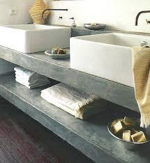 Bath Vanities With Dressing Table by Grey Vanities At Lowes Tag Concrete Countertops Bathroom Vanity