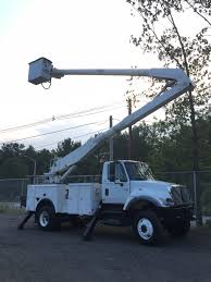 100 Altec Boom Truck 2005 INTERNATIONAL 7300 4X4 ALTEC 60 BUCKET BOOM UTILITY TRUCK 4WD