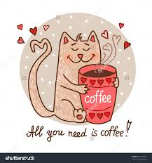 Coffee Clipart Red