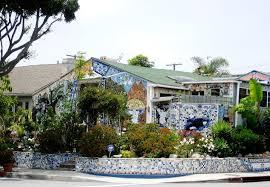 history los angeles county santa mosaic house