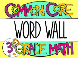 Third Grade Math Clipart