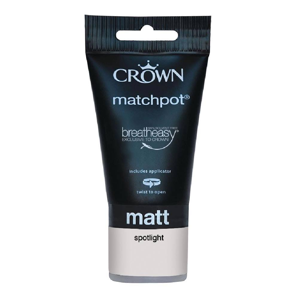 Crown Breatheasy Emulsion Paint - Spotlight Matt, 40ml