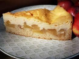 apfelkuchen mit puddingschmand vegan und munter