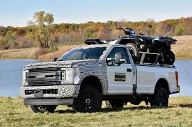 100 Aluminum Ford Truck Tests Strength Of 2017 Super Duty Bed With Accessories