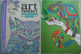 Art Therapy Colouring Book Use Your Creativity To De Stress A Review