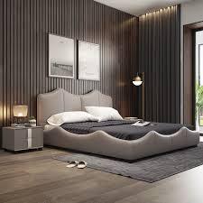 echt echte kuh leder bett weichen betten schlafzimmer camas lit muebles de dormitorio yatak mobilya quarto einzigartige designer möbel