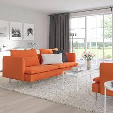 söderhamn 3er sofa samsta orange