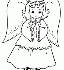 Download Angel Coloring Pages For Preschool