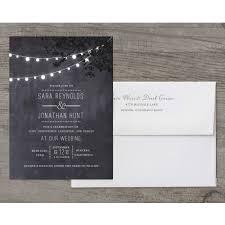 Wedding Glow Deluxe Invitation