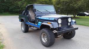 100 Craigslist Knoxville Cars And Trucks 1981 Jeep Scrambler CJ8 258 V6 Manual For Sale TN