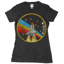 Womens NASA Rainbow T Shirt