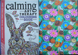 Calming Art Therapy Doodle And Colour Your Stress Away A Review