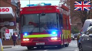 100 Truck And Bus Command Fire Truck Responding With Siren And Lights YouTube