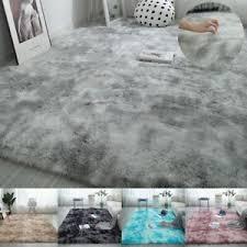 details zu groß shaggy hochflor teppich wohnzimmer schlafzimmer soft teppich200 250cm