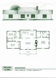 Log Cabin Ranch Style House Plans With Wrap Around Porches Free 4 Bedroom Home Garage Rustic