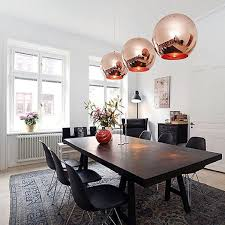 Moaere Clearance Lighting Vintage Clear Glass Globe Pendant Oil Kitchen Hanging Lamp Antique Brass Hanging Fixture Glass Drop Ball Ceiling Lights