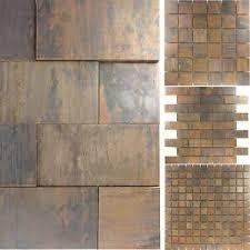 details zu kupfer metall design mosaik fliesen amadora küche boden wand fliesenspiegel wc