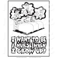 Download Coloring Pages Nurse Page 1 To Print