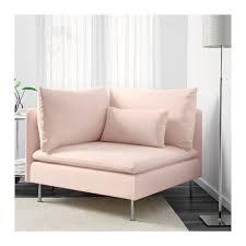 söderhamn corner section samsta light pink ikea