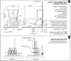 floor mount rear outlet toilet american standard floor mounted