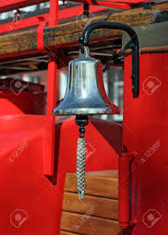 100 Fire Truck Bell Metal Alarm On Red Stock Photo Picture And Royalty