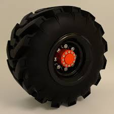 100 Off Road Truck Tires Tractor And Road Tire 3D CGTrader