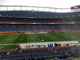 Sports Authority Field Section 124 RateYourSeats