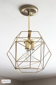 Diy Geometric Globe Pendant Light Atta Girl Says Lights