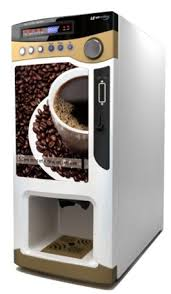 Cost Effective Commercial Coffee Dispenser With Coin Operated Vending Machine LE303V