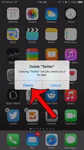 How to Delete Twitter from an iPhone 6 Solve Your Tech
