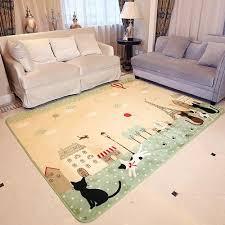 tapis de chambre bébé 130 185cm tapis salon carpet tapis chambre enfant bébé rer shaggy