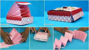 DIY Paper Crafts Easy Magic Gift Box
