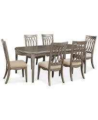 kelly ripa home hayley 7 pc dining set dining table 6 side