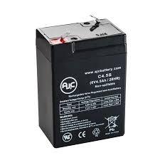 lithonia lighting elb06042 6v 4 5ah sealed lead acid battery
