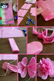 Step One Gather Your Materials Tissue Paper Twine And Scissors No Pipe Cleaners Here