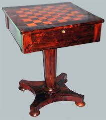 antique chess table ebay