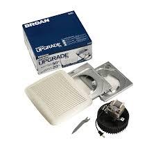 Nutone Bathroom Fan Replacement Bulb by Shop Broan 3 Sone 60 Cfm Polymeric White Bathroom Fan At Lowes Com