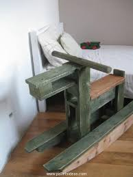 Recycled Pallet Horse For Kids CraftsDiy