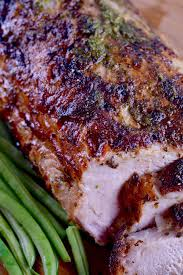 Juicy Tender With Hints Of Garlic And Citrus This Grilled Cuban Mojo Pork Roast Recipe Is An Easy Yet Impressive Meal To